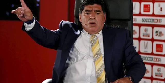委总统挺马拉多纳当主席 FIFA该由足球人领导