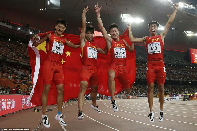 特评:中国百米接力银牌相当于世界杯亚军