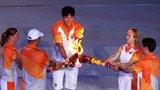 8月12日-大运盛大开幕 刘翔等5人点燃主火炬