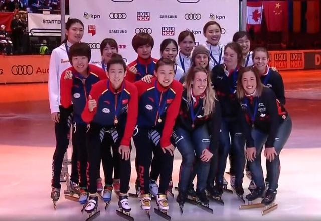 短道世界杯范可新绝杀韩国 中国女子接力夺冠
