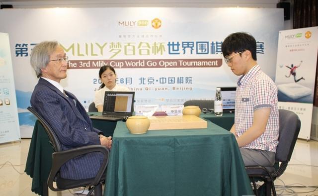 梦百合杯日本AI胜李世石弟子 古力预测它夺冠