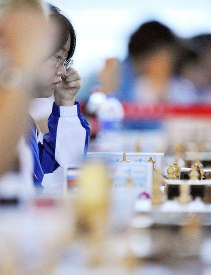 大运国际象棋落幕 中国军团包揽三金完美收官