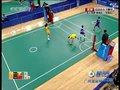视频:女子藤球双人预赛 孙晓丹转身侧踢得分