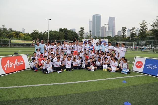 QPR青少年足球训练营举办 5优秀教练深圳助阵