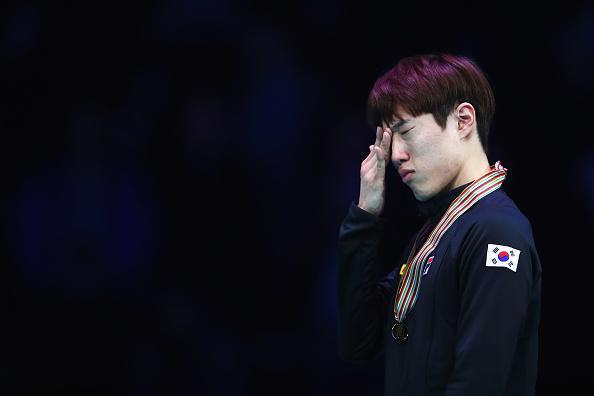 泪目!韩短道冠军悼念好友卢珍圭:我想你