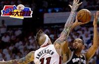 NBA30大绝技之擦板投篮:邓肯苦练出内线大杀招