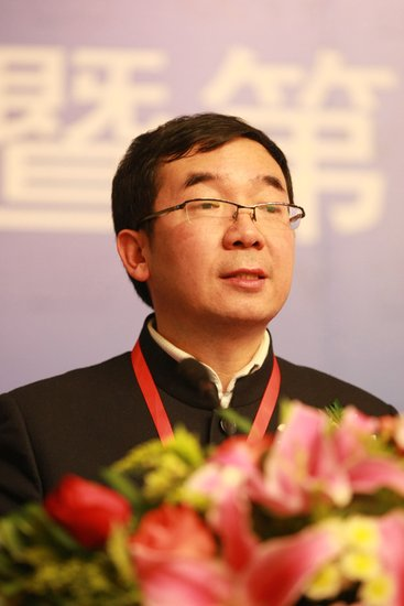CCTV广经中心副主任何海明体育营销论坛演讲