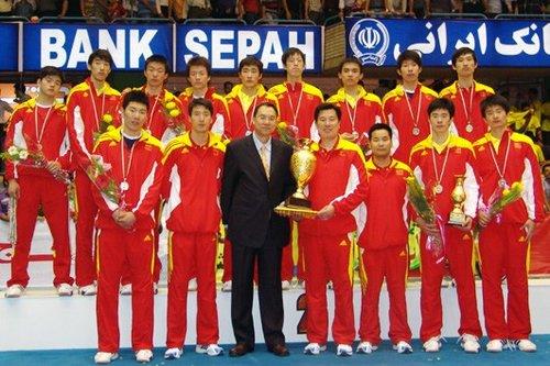 亚少赛中国男排负伊朗摘银 获参加世少赛资格