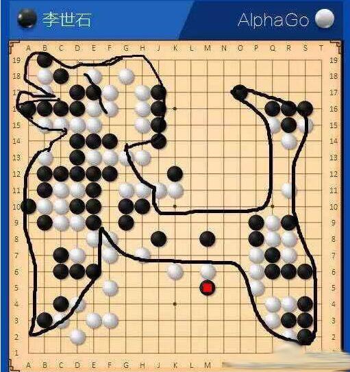Master与柯洁对弈画狗 网友:这就是AlphaGo!