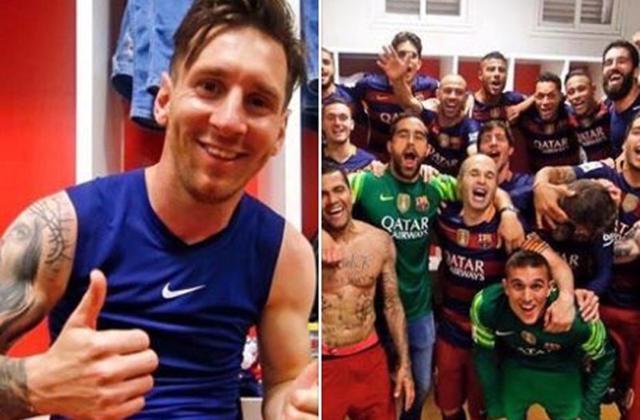 梅西脸书庆祝夺冠:感谢所有人!冠军献给球迷