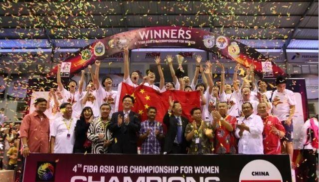 亚青赛综述:U16女篮轻松夺冠 场均净胜36分