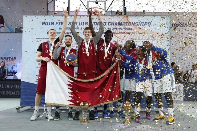 3X3U18世青赛落幕 卡塔尔法国分获男女组冠军