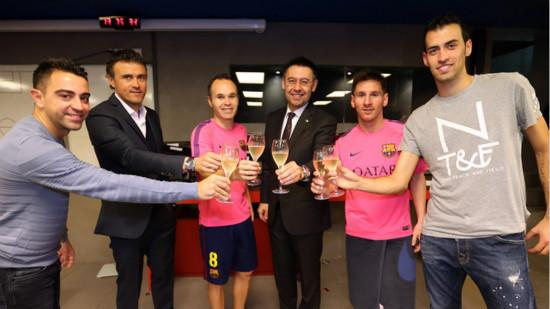 Bartomeu wish a Merry Christmas to all players