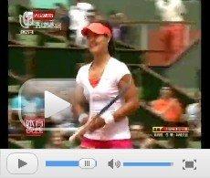 视频:李娜逆境中狂扫6局 霸气逆转首进八强