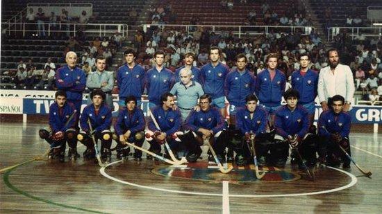 巴塞罗那轮滑曲棍球队艰辛与荣誉的历史记录