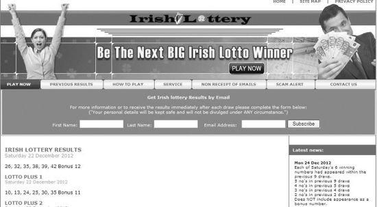 爱尔兰慈善彩票经营商起诉该国国家司法部长