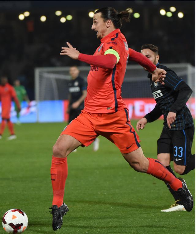 热身赛-国际米兰0-1巴黎 伊布失良机铁腰绝杀