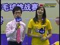 视频:2010羽林争霸决赛 谢杏芳代表林丹助阵