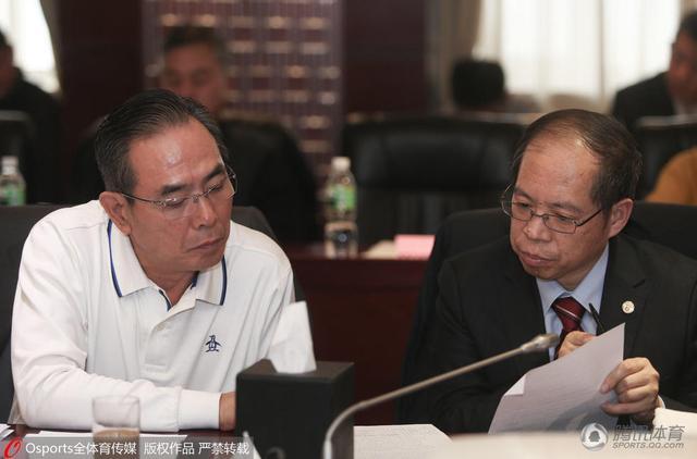 蔡振华出席足改座谈会 称未来将建立青年联赛