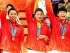 中国女篮精彩三连冠