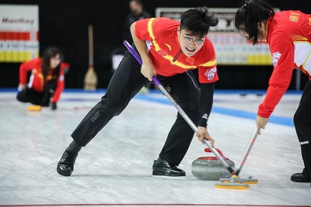 混合冰壶世锦赛中国小组第二 进16强将战捷克