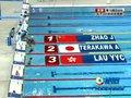 视频:女子200m仰泳预赛第1组 赵菁顺利晋级