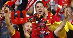 比利时热情的球迷