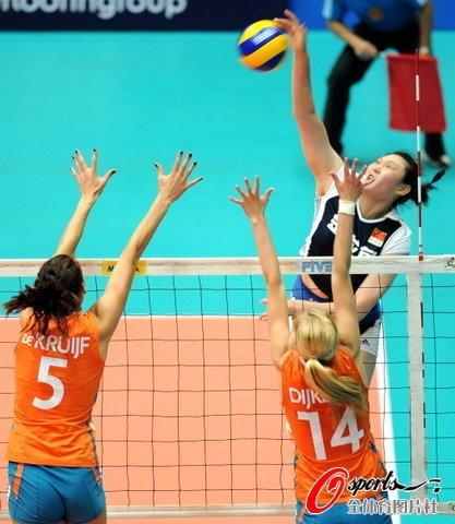 中国女排3-1荷兰 3战全胜大奖赛成都站夺冠