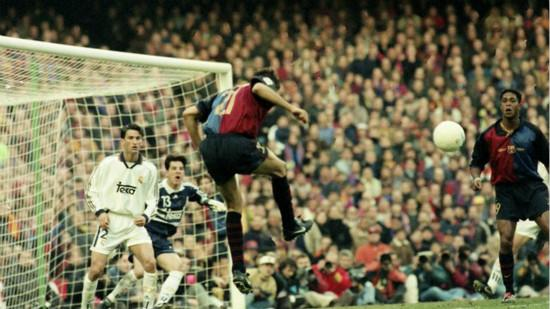 Real Madrid 1 Barcelona pressed the advantage 16 years ago, 85 years Enrique twice broke