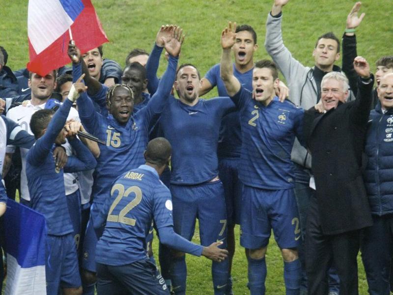 惊天逆转!法国三球击败乌克兰截图