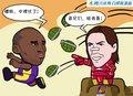 漫画:纳什变身钢铁侠 太阳跑轰再胜湖人