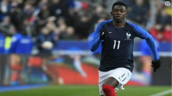 博狗亚洲乌姆蒂蒂和登贝莱为法国队进球