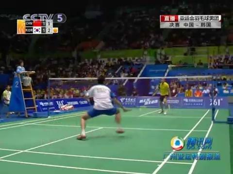 视频专辑:羽毛球男团中国队3-1力克韩国队