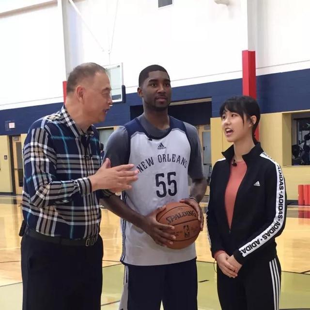 NBA女主播陈美男:我最尊敬的人,张指导