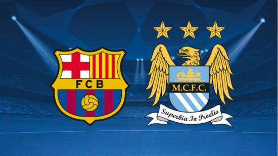 Champions League last 16 first leg draw Barcelona met Manchester City February 24 war