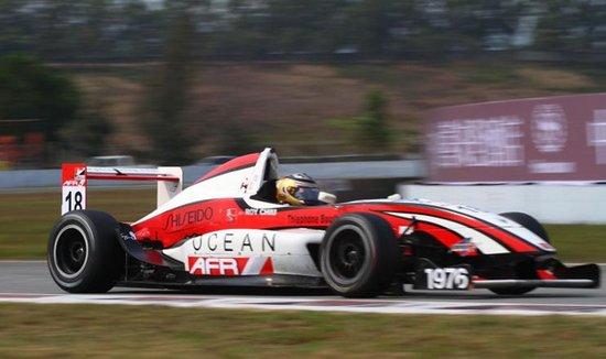 亚洲afr方程式系列赛第三站重返珠海赛车场图片
