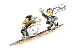 漫画体坛:不陪桑兰玩的律师
