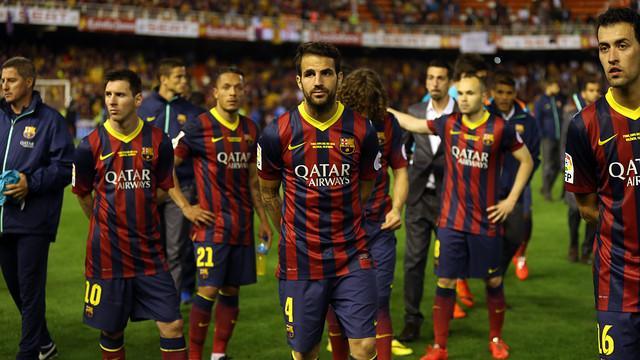 巴塞罗那1-2皇家马德里:错失国王杯冠军