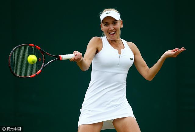 温网-萨法洛娃完败 维斯尼娜长盘险胜进八强