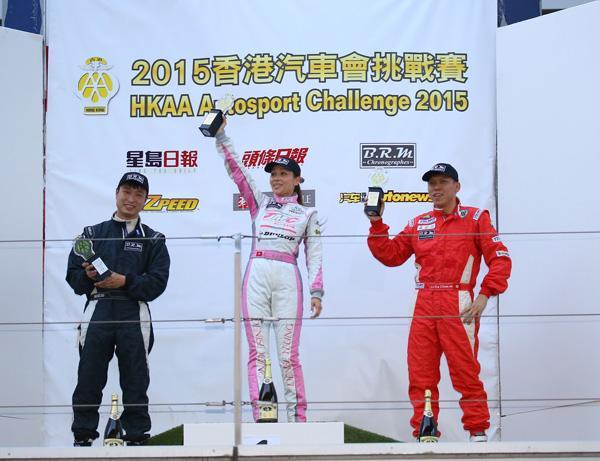 HTCC首登上赛场 778车队老将女将齐发威夺冠