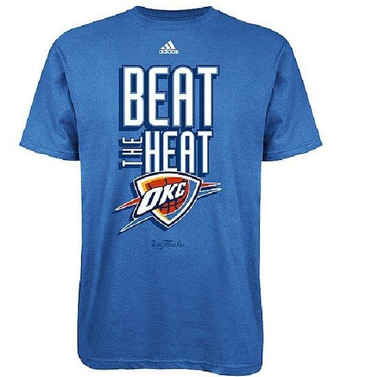 NBA商店都无视绿军! 已出售雷霆击败热火T恤