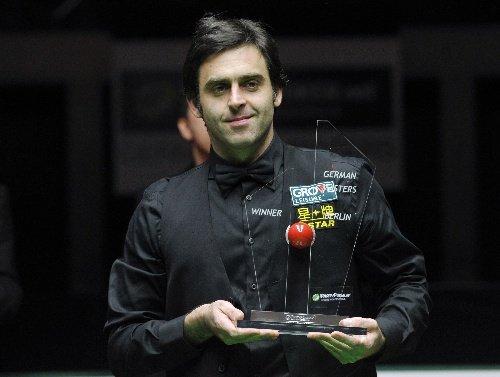 德国大师赛奥沙利文9-7马奎尔 夺生涯第23冠