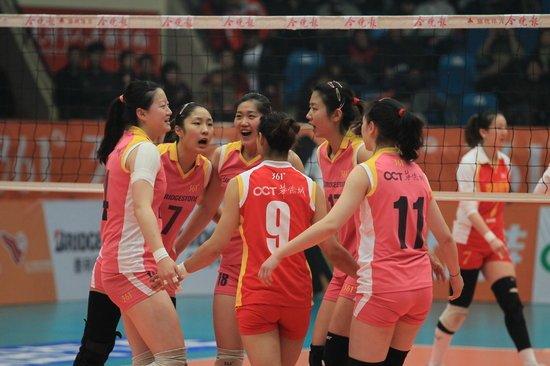 女排联赛-天津主场3-0完胜八一 两连胜获季军