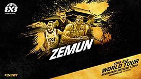 FIBA3X3大师赛总决赛巡礼:塞尔维亚劲旅泽蒙