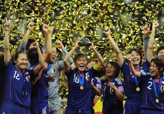 女足世界杯-日本点球3-1胜美国 历史首次夺冠