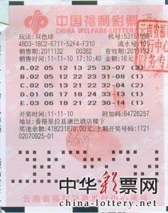 云南1工程师淡定领取近2000万双色球巨奖(图)