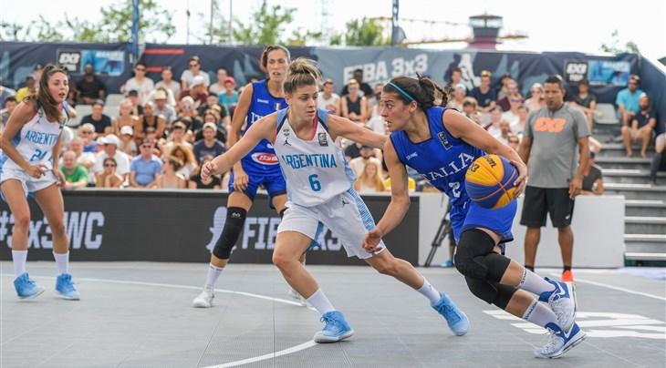 FIBA3X3世界杯第4日战况-意大利女篮延续连胜
