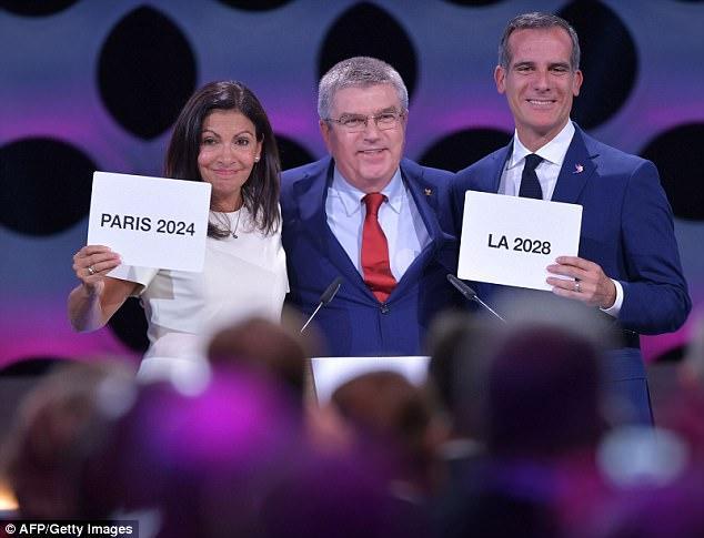 IOC宣布奥运会举办城市:2024巴黎 2028洛杉矶