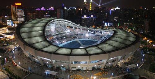 2010上海田径钻石联赛场馆——上海体育场