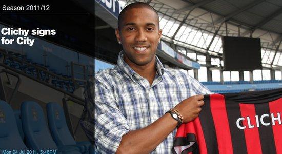 曼城官方宣布今夏首签 转会费700万镑合约4年